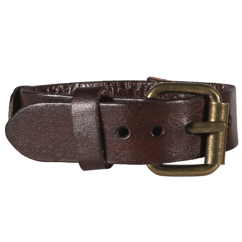 30b73408e74 Bracelet ceinture pour homme en métal doré vieilli et cuir. Ceinture  Adolescent Adulte Garçon Homme