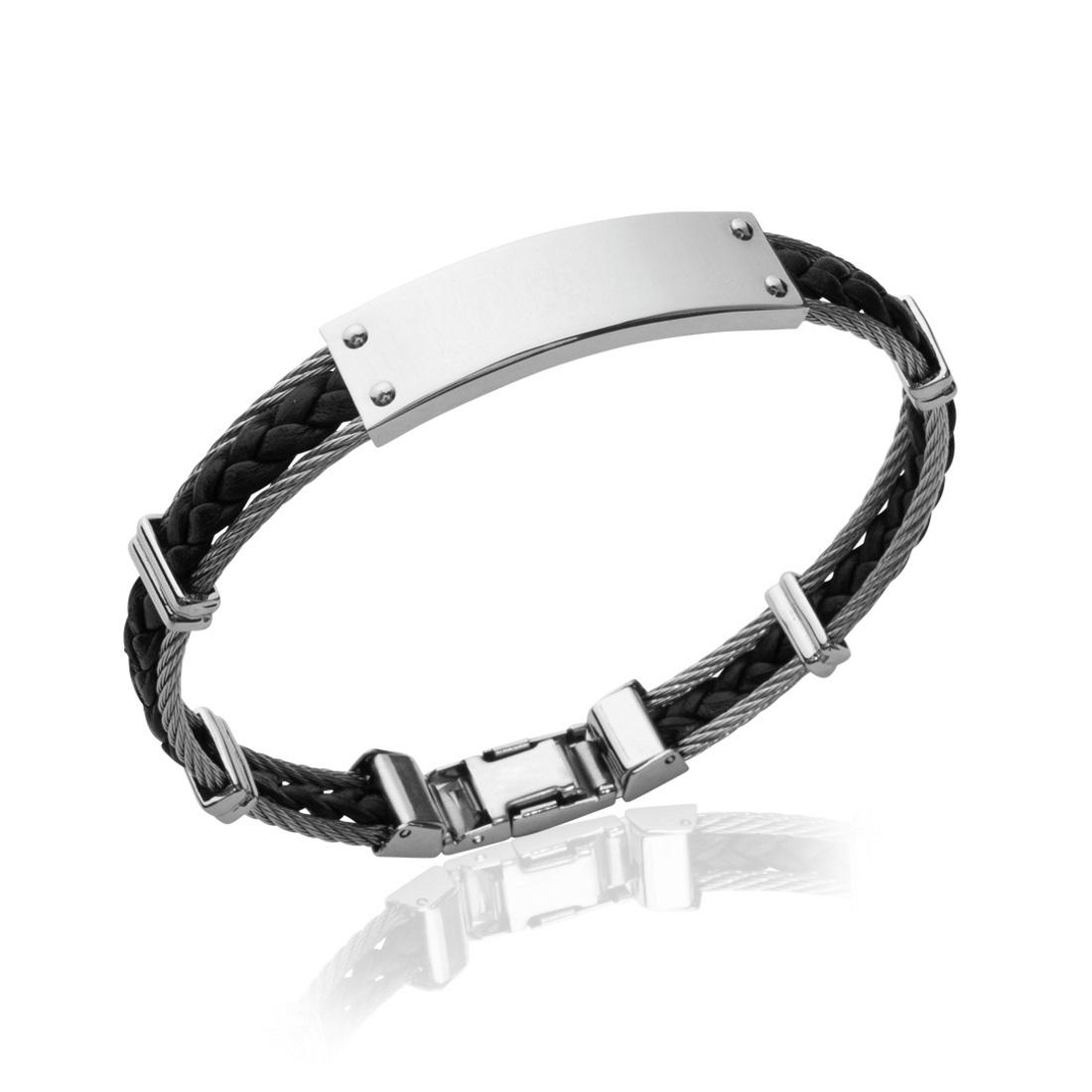 bracelet cuir ado garcon