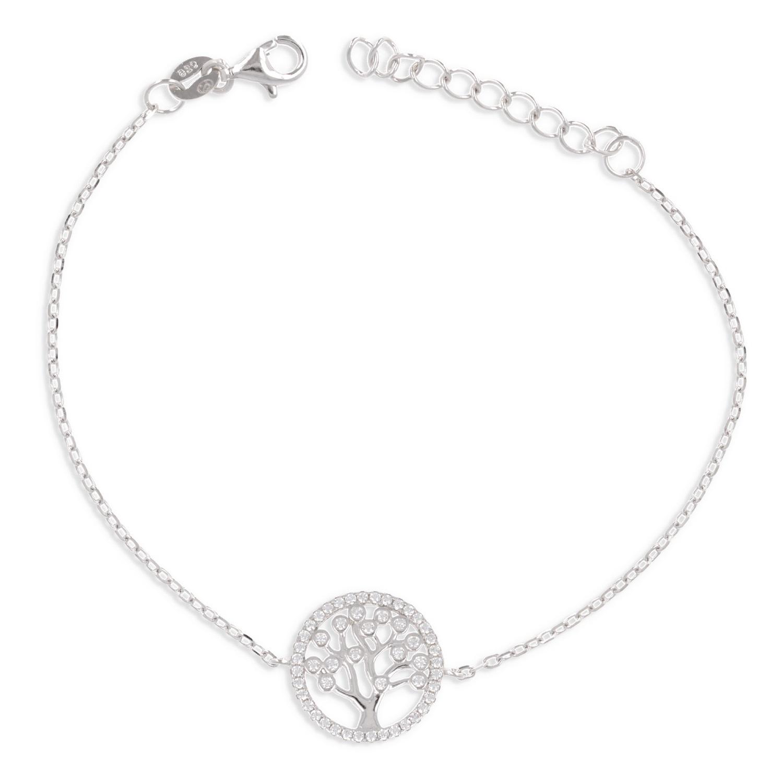 bracelet argent arbre de vie